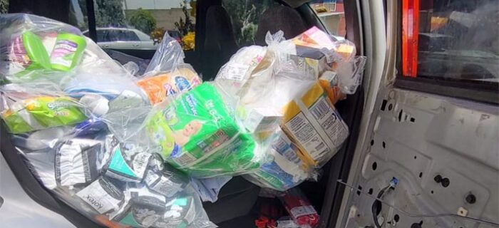Recupera Policía Estatal mercancía robada a empresa de Tlaxcala