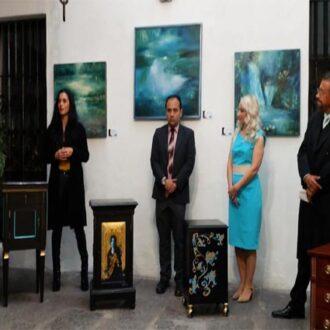 Paisajes del mundo se plasman en la obra pictórica individual de Natalia Viveros Galindo: Morelos Castro Aguilar