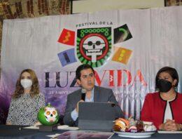 Lorenzo Rivera impulsa el Festival de la Luz y de la Vida