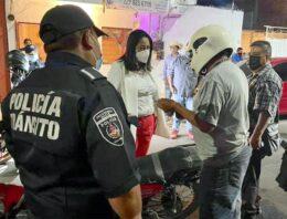 Ariadna Ayala supervisa personalmente operativos de seguridad pública