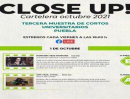 Capilla del Arte UDLAP presenta la tercera edición de Close Up! Muestra de Cortometrajes Universitarios Puebla