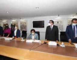 Concluye instalación de comisiones y comités de la LXI Legislatura