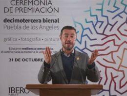 Bienal Puebla de los Ángeles premia la memoria a través del arte