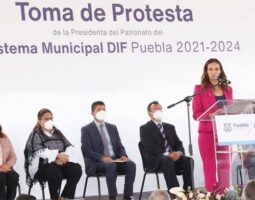 Liliana Ortiz Pérez rindió protesta como presidenta del patronato del sistema municipal DIF Puebla
