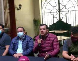 Morenistas condenan trato amable de Barbosa al expresidente Calderón